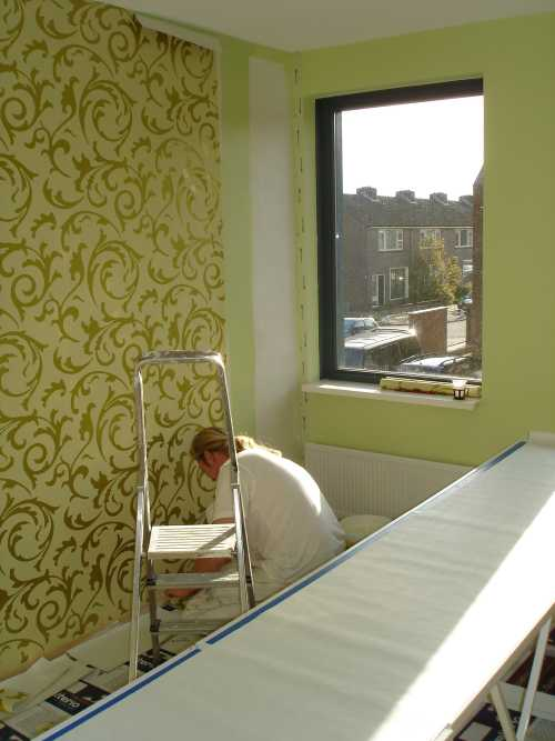Admiraal schilderwerken behangen - Behang voor een kamer ...